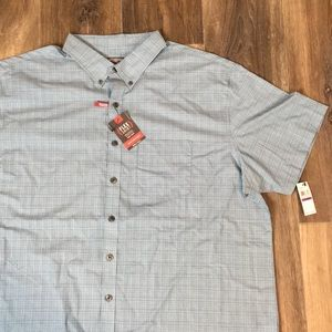 New van heusen short sleeve dress shirt